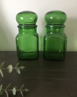 bocal vintage vert ARIEL