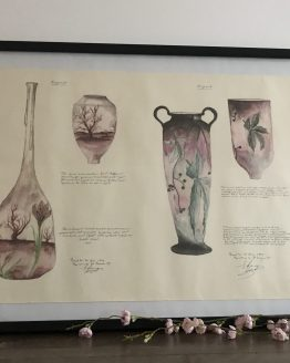 reproduction brevet de daum 1899