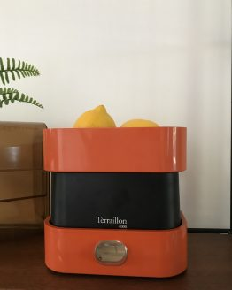 balance terraillon 4000 orange vintage