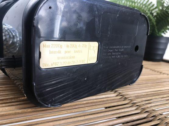 Balance vintage terraillon noire