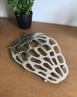Dessous de plat Fraise en métal