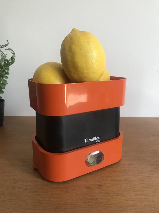Balance de cuisine vintage Terraillon 4000 Orange