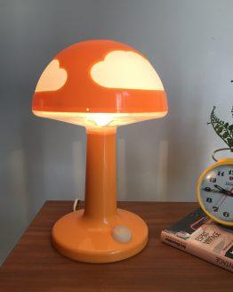 Lampe nuages Skojig Orange par Henrik Preutz pour IKEA