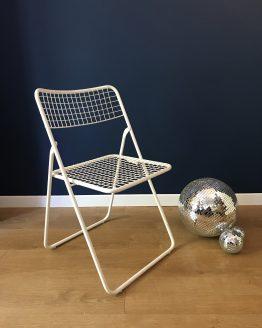 chaise ted net pliante blanch niels gammelgaard