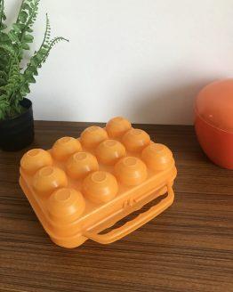 boite à oeuf vintage orange