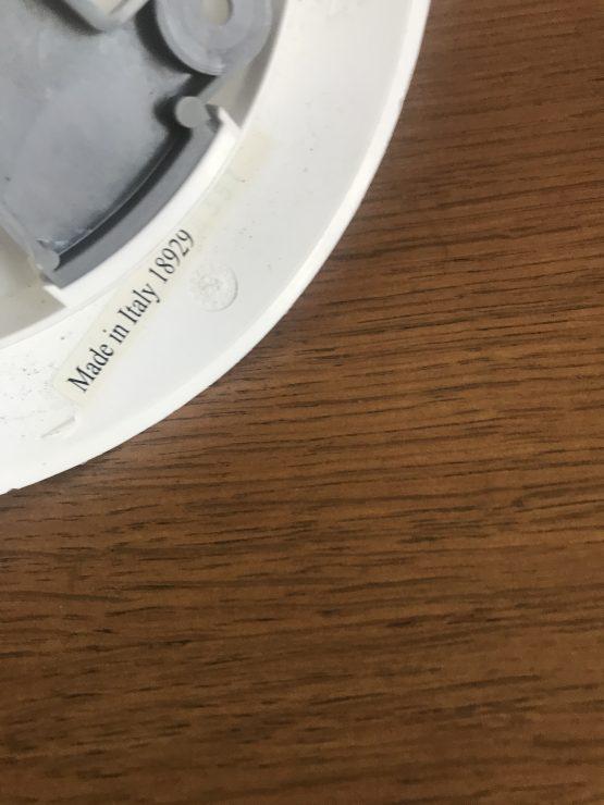 APPLIQUE TULIPE BLANCHE «FLAMMA» POUR IKEA DESIGN DE CARL OJERSTAM